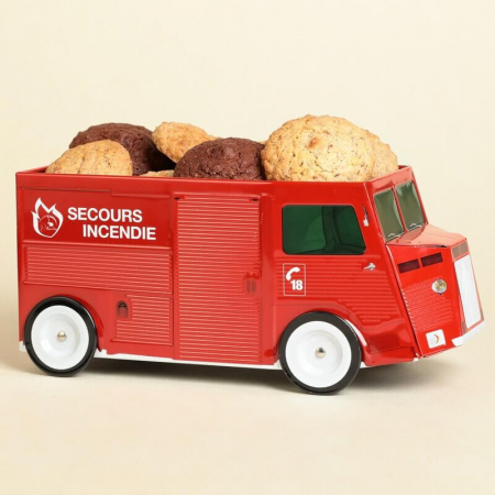 Macaroons Truck Box - Firefighter